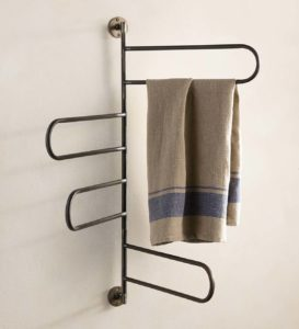 A towel rack.