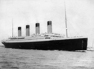 It's the Titanic.